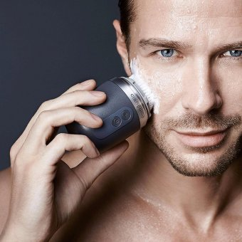 Harga Clarisonic Alpha FIT Men's Sonic Facial Cleansing Brush System - intl