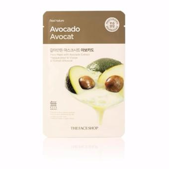 Harga The Face Shop Real Nature Face Mask (Avocado) 1 Piece