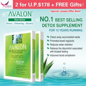 Harga AVALON Aloe Multiple Detox Capsules - Twin Pack
