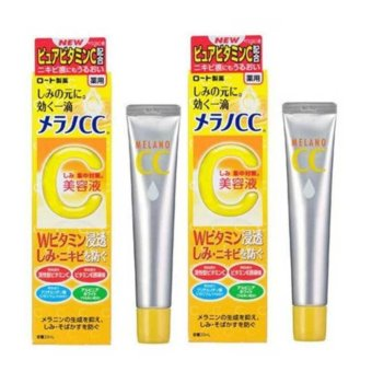 Harga ROHTO MELANO CC Intensive Anti-Spot Essence 20ml (2pcs) - intl