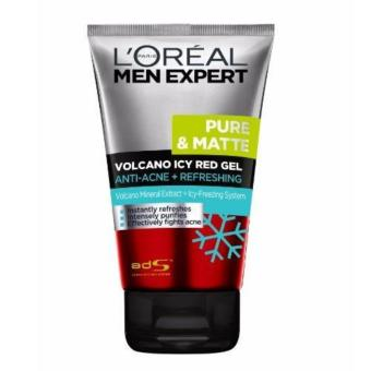 Harga L'Oreal Paris Men Expert Pure & Matte Volcano Icy Red Gel