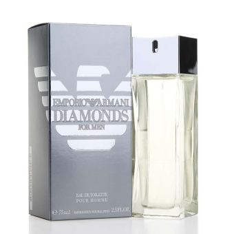 Harga Emporio Armani Diamonds Eau de Toilette for Men 75ml
