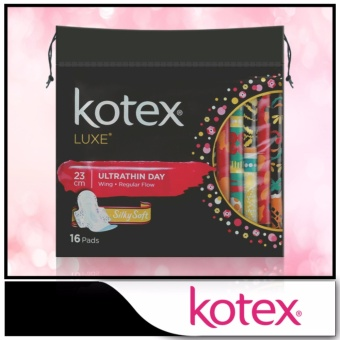 Harga Kotex Pads Luxe Ultra Thin Wing 23cm 16pcs