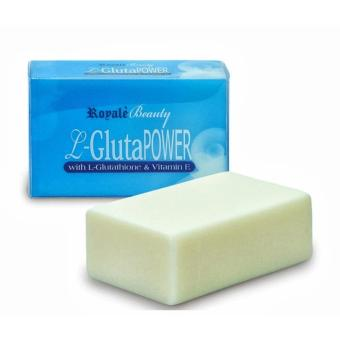 Harga L-Gluta Power Soap with L-Glutathione & Vitamin E