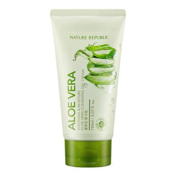 Harga Nature republic Soothing & Moisture Aloe Vera Cleansing Gel Cream 150ml