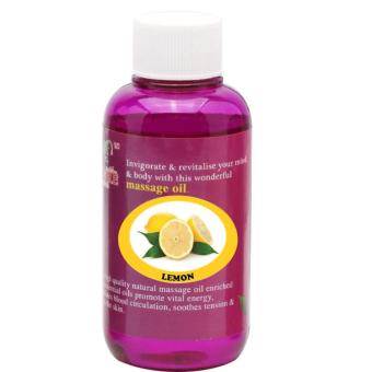 Harga Pure™ Massage Oil 120ml (Lemon)
