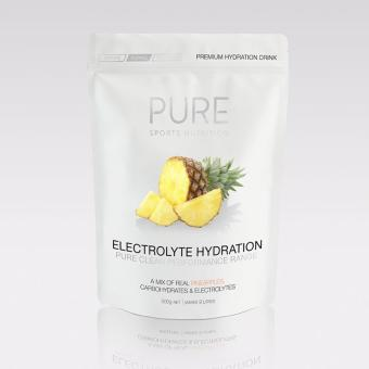 Harga PURE Electrolyte Hydration 500g Pouch - Pineapple