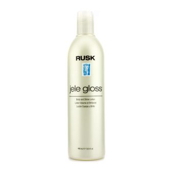 Harga Rusk Jele Gloss Body & Shine Lotion 400ml/13.5oz