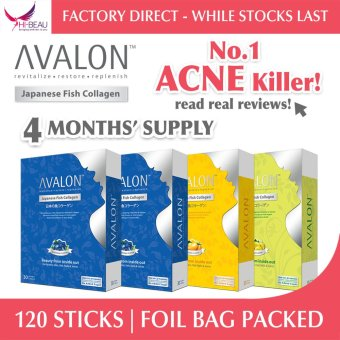 Harga AVALON Japanese Fish Collagen (Bundle of 4)