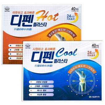 Difen Cool Medicated Pain Relief Patch Diclofenac for Muscle Joint Back Pain Tennis Elbow 2Packs (20patches) - intl - 4