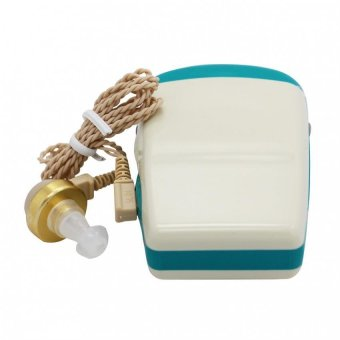Harga Telephone Pocket Hearing Aid Axon F-28 (White+Blue)
