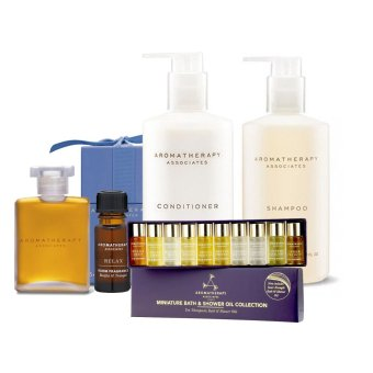 Harga Aromatherapy Associates Bath Oil+Shampoo+Conditioner+Mini Collection+Fragrance - intl