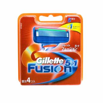 Gillette Fusion Cartridge 4s (Japanese)