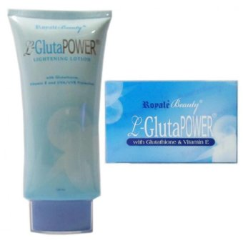 Royale L-Gluta Power Soap and L-Gluta Power Lotion