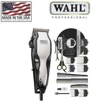 Harga WAHL 79524-800 ChromePro Corded Hair Clipper with 10 Attachment Combs [Corded Only][MADE IN USA]