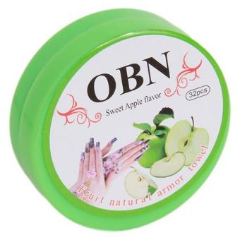 Harga LALANG Cosmetics Nail Polish Remover Resurrection Towel Nail Tools Green