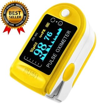 Harga shpsammall-Finger Pulse Oximeter Finger Oxygen Meter With Pulse Rate Monitor - intl