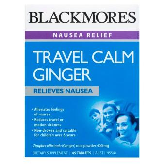 Harga Blackmores Travel Calm Ginger 45 Tablets