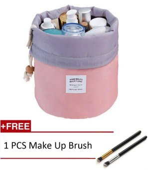Cosmetic Bag,Travel Toiletries Makeup Storage Bag Wash Organizer Case Toiletry Makeup Bag/Storage Drawstring Cosmetic Bags Make up Organiser/Cosmetics Organizer/Organizers Bags for Makeup - intl