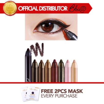 Harga BBIA Last Auto Gel Eyeliner Version Bohemian No.05 Soul Brown + Free 2 Pcs 3WClinic Mask Pack [Buy 1 Get 1 Freebie]