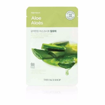 Harga The Face Shop Real Nature Face Mask (Aloe) 1 Piece