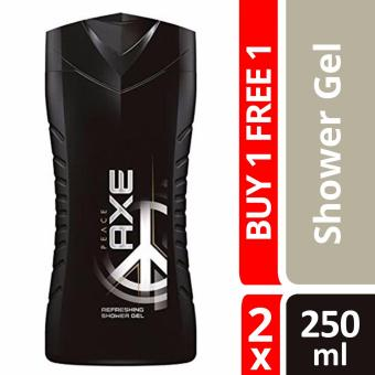 Harga Buy 1 Free 1 Axe Men Shower Gel Peace 250ml