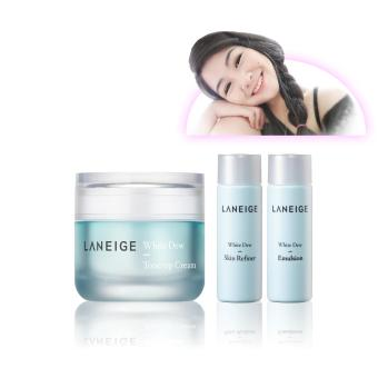Harga LANEIGE X FLRNCX White Dew Tone Up Cream 50ml Set