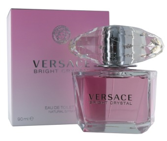 Versace Bright Crystal EDT Spray 90ml Ladies