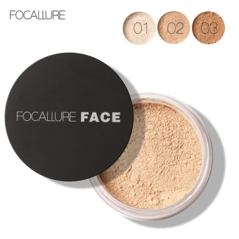Focallure New Face Oil Control Makeup Loose Powder Anti-sweat Cosmetic Tool #3 - intl