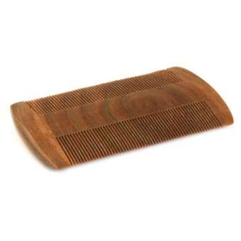 Durable Double Sided Wooden Nit Combs for Head Lice Dectection Comb Pet Flea - 4
