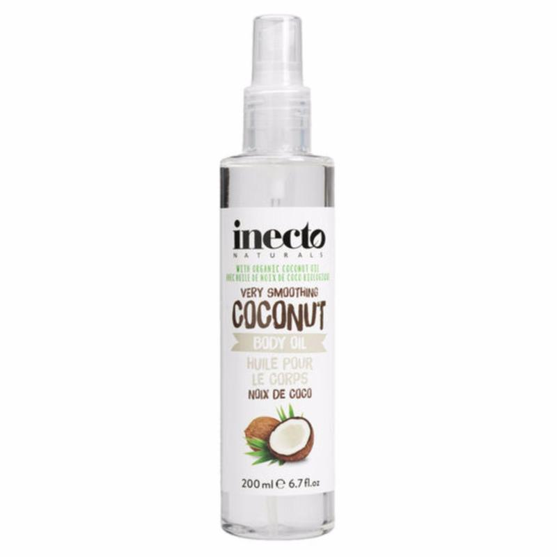 Buy Inecto Natural Coconut Body Oil 200ml Singapore