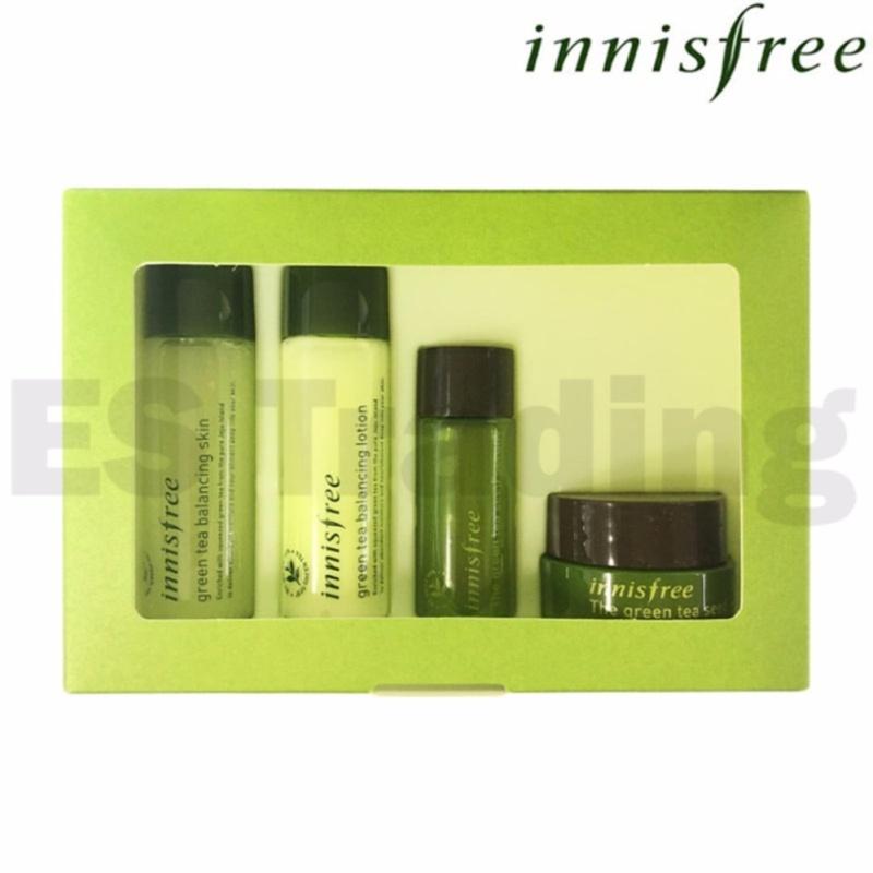 Buy INNISFREE Green Tea Special Kit 4 Item [Sample Kit] - intl Singapore