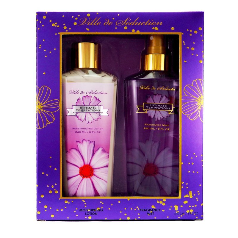 Buy SPELLBOUND VILLE DE SEDUCTION GIFT SET 240ML EACH Singapore