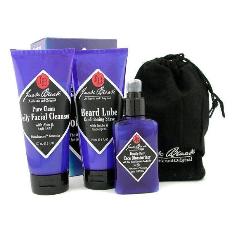 Buy Jack Black The Core Collection 3pcs (Violet/Black) - intl Singapore