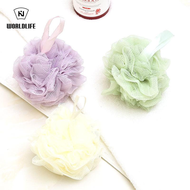 Buy Japan World life bath ball bath flower bath ball cuozao bath ball bath towel 2 piece Singapore