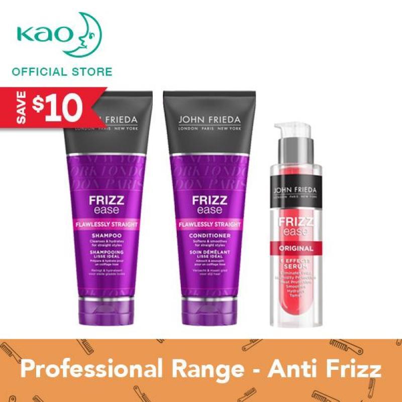 Buy John Frieda Frizz Ease Flawless Straight Shampoo & Conditioner + Original Serum Singapore