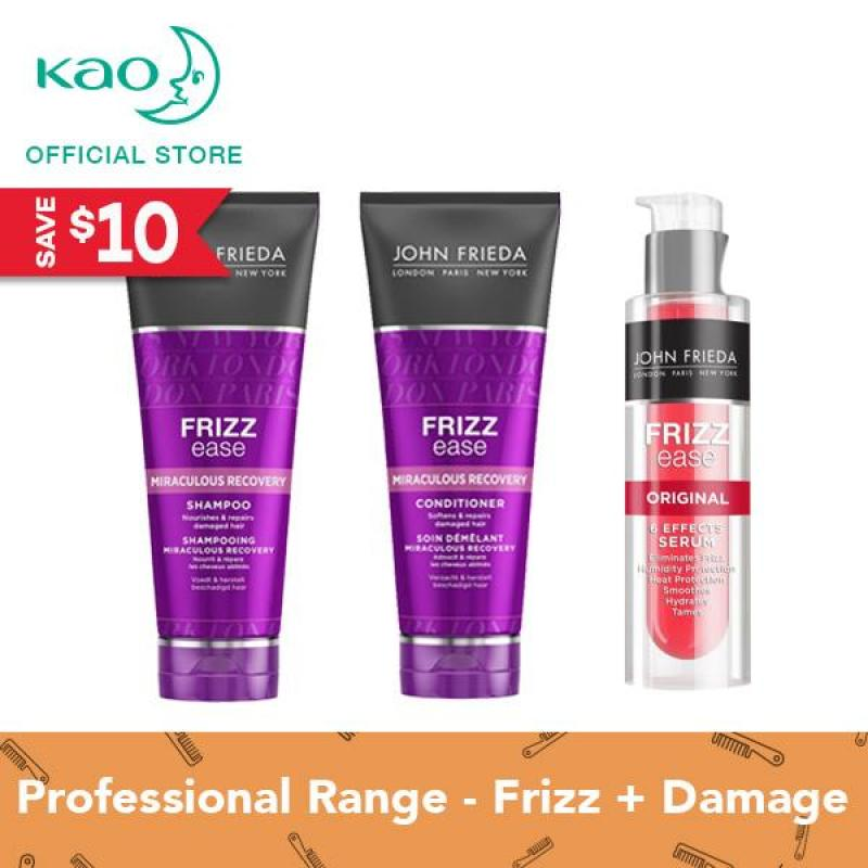 Buy John Frieda Frizz Ease Miraculous Recovery Shampoo & Conditioner Set Singapore