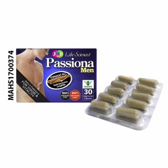Harga JR Life Sciences Passiona Men (30 Vegetarian Capsules)