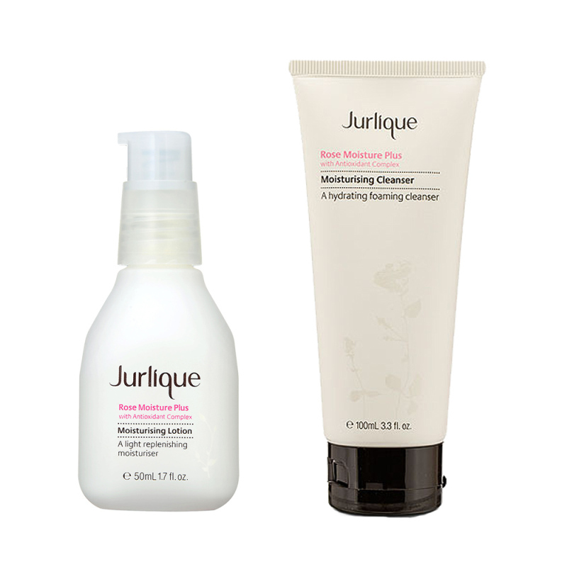 Buy Jurlique Moisturising Cleanser + Moisturising Lotion Kit Set Singapore