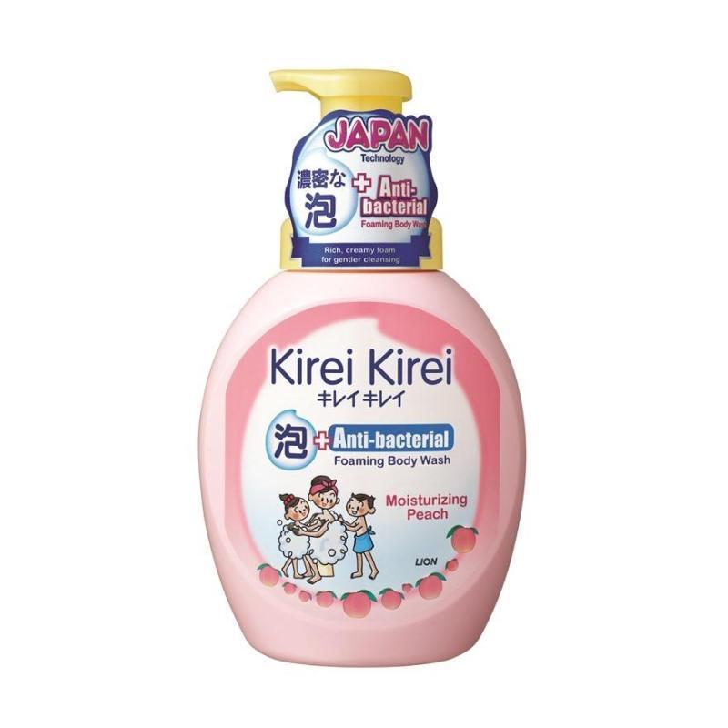 Buy Kirei Kirei Anti-Bacterial Foaming Body Wash 900ml (Moisturizing Peach) Singapore