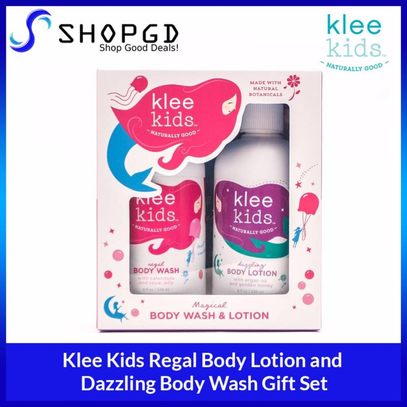 Buy Klee Kids Regal Body Wash and Dazzling Body Lotion Gift Set [Made in USA - Direct Import] Singapore