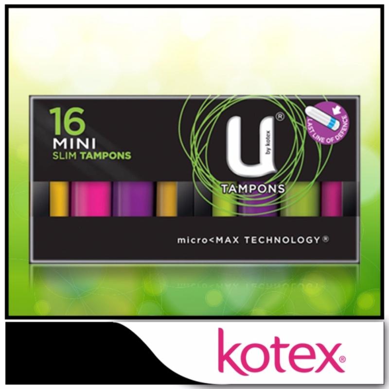 Buy Kotex Tampons Mini 16pcs Singapore