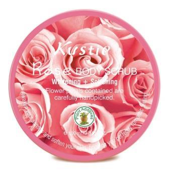 Kustie Rose Body Scrub 100ml - 2