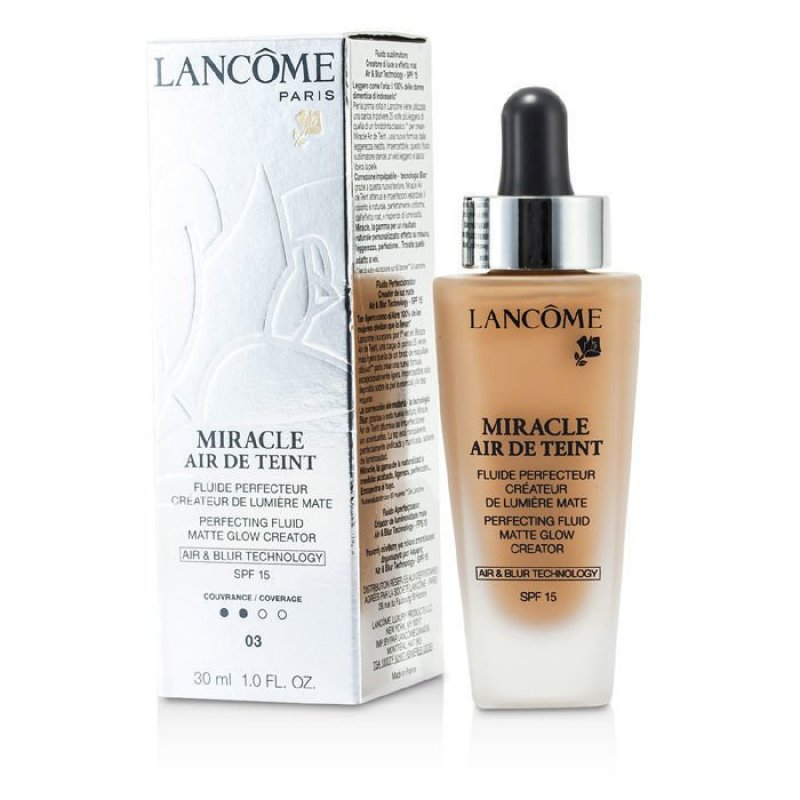 Buy Lancome Miracle Air De Teint Perfecting Fluid SPF No.03 Beige Diaphane 15 30ml - intl Singapore