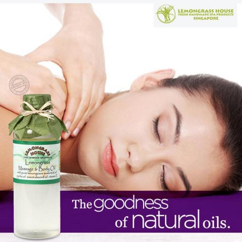 Buy Lemongrass House Lemongrass Massage & Body Oil 250ml Singapore
