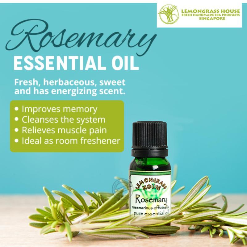 Buy Lemongrass House Rosemary Essential Oil 10ml Singapore