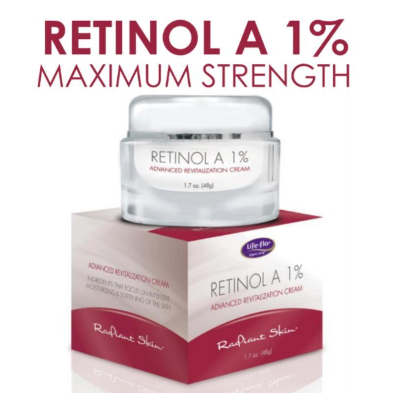Buy Life Flo, Retinol A 1%, Advanced Revitalization Cream (50ml) Singapore
