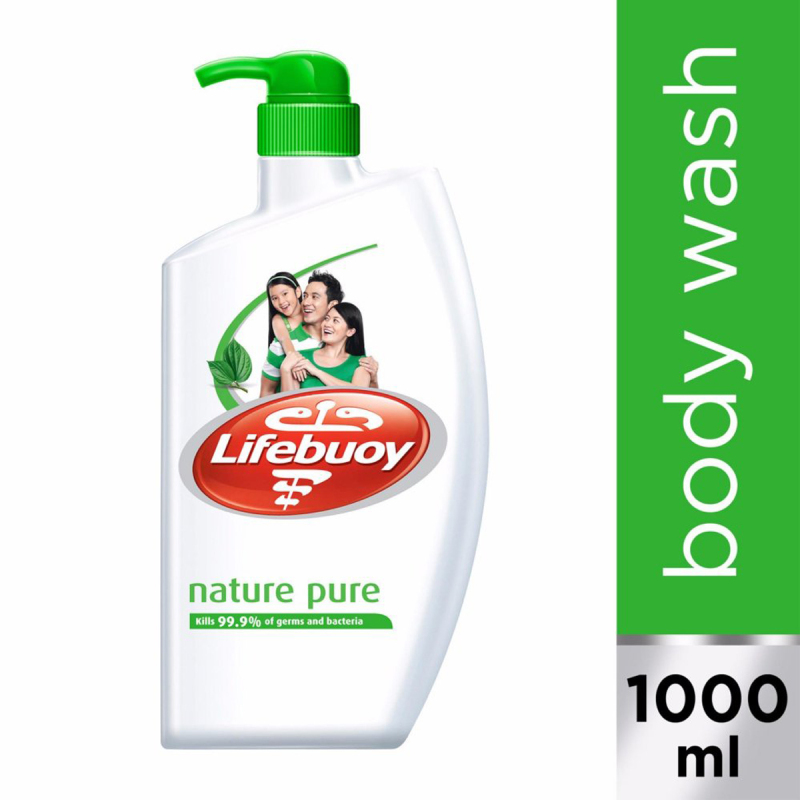 Buy Lifebuoy Nature Pure Anti-bacterial Body Wash 1L Singapore