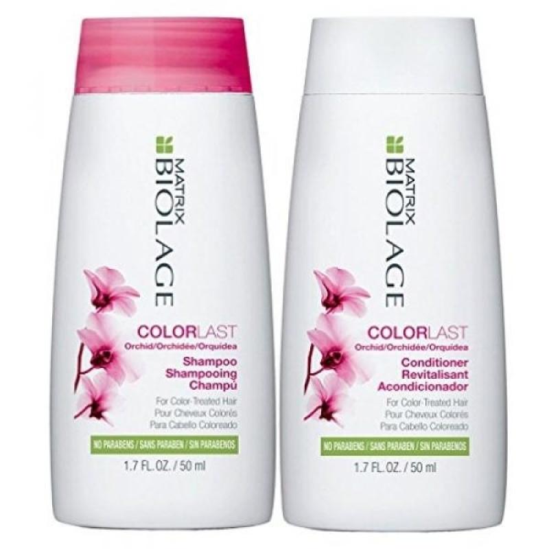 Buy Matrix Biolage Colorlast 1.7oz Shampoo and Conditioner Travel Size Set - intl Singapore