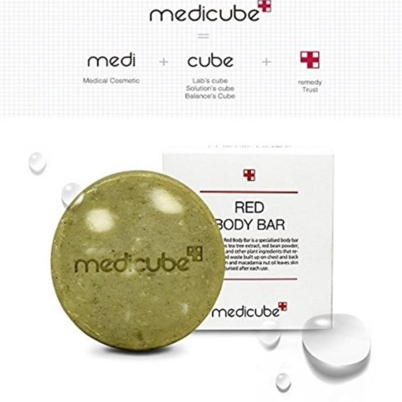 Buy Medicube Red Body Bar / Body soap / Skin care for body 100g♡ - intl Singapore